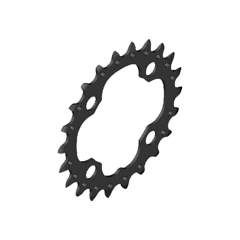 Shimano SLX FCM672 10 Speed Triple Chainrings - Black - 4-Bolt, Black