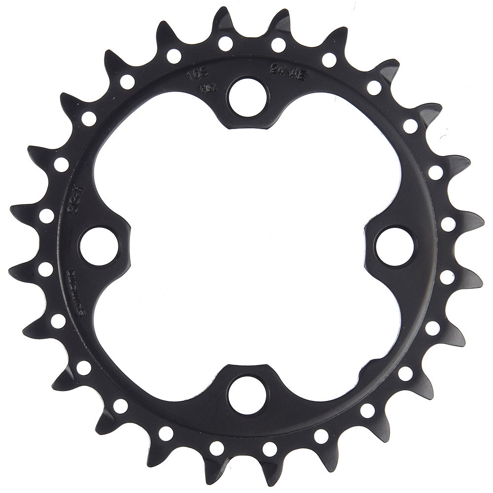 Shimano Deore FCM590 10 Speed Triple Chainring - Black - Standard Type, Black