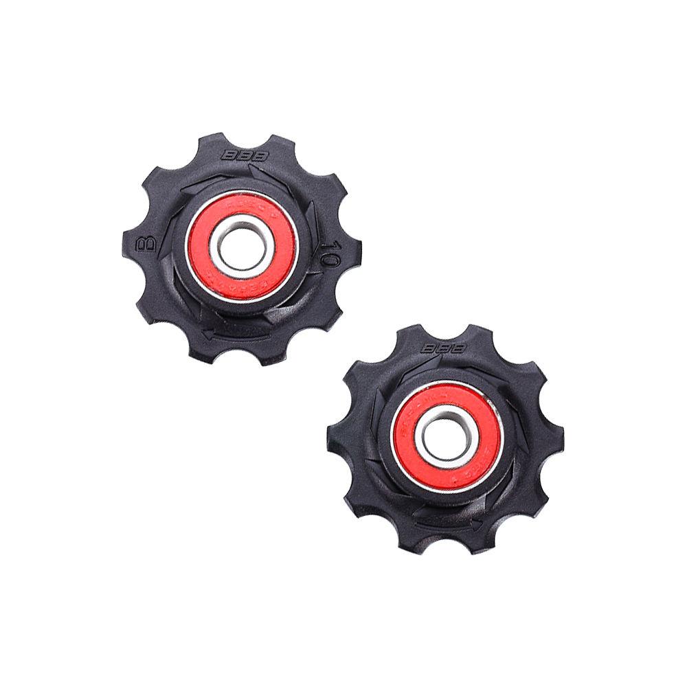Bbb Rollerboys Ceramic Jockey Wheel - Black  Black