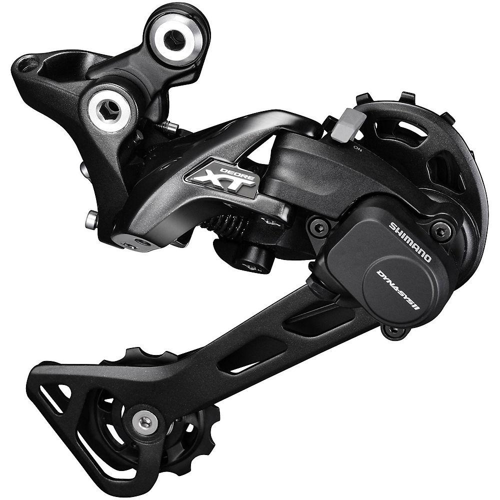 Shimano XT M8000 11sp Rear Derailleur - Black - Medium Cage, Black