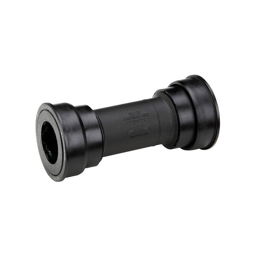 Shimano XT MT800 MTB Press Fit Bottom Bracket - Black - 89.5/92mm - BB92 PF41 - 24mm Spindle, Black