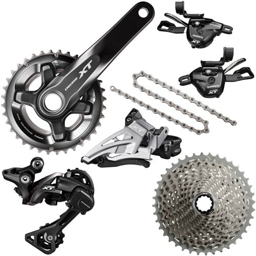 73f3a41b8ff Shimano XT 2x11 Drivetrain Groupset Builder | Chain Reaction Cycles