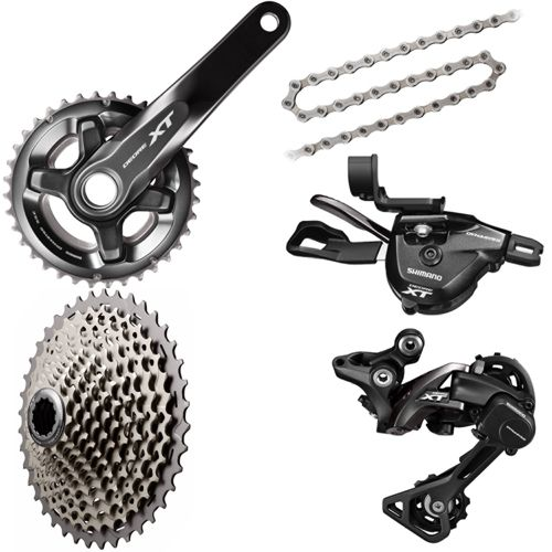 01872e99e16 Shimano XT 1x11 Drivetrain Groupset Builder | Chain Reaction Cycles