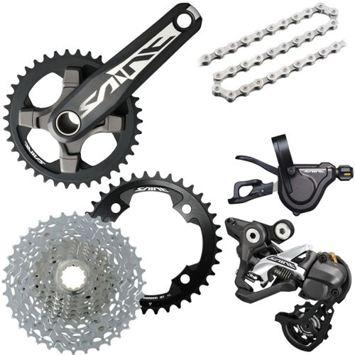073391735fd Shimano Saint 10sp Drivetrain Groupset Builder | Chain Reaction Cycles