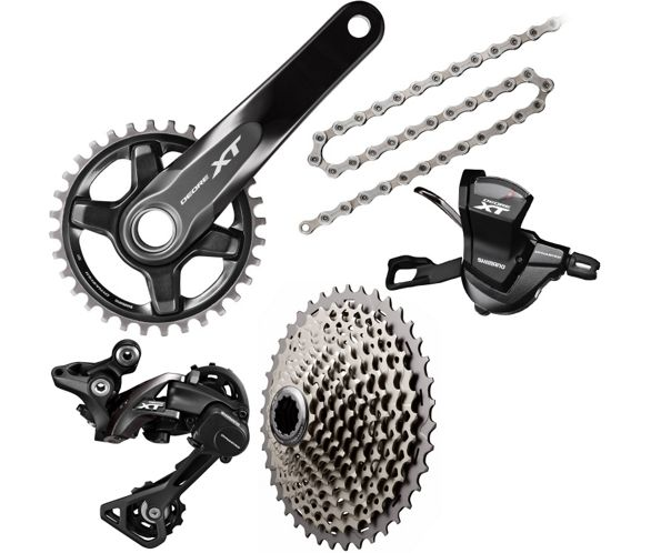 de058538360 Shimano XT M8000 1x11 Drivetrain Groupset | Chain Reaction Cycles