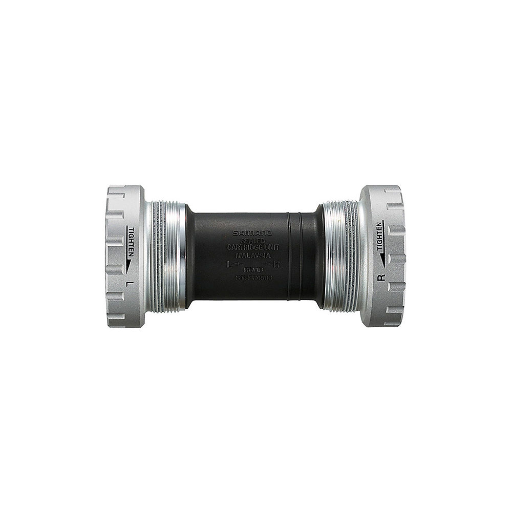 Shimano Tiagra 4700 Bottom Bracket - Silver - 68mm - English Thread - 24mm Spindle, Silver