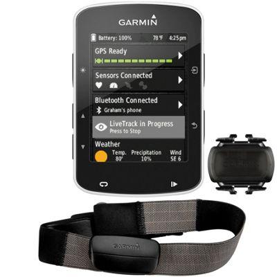 Ciclocomputador GPS Garmin Edge 520 (con pulsómetro y cadencia)