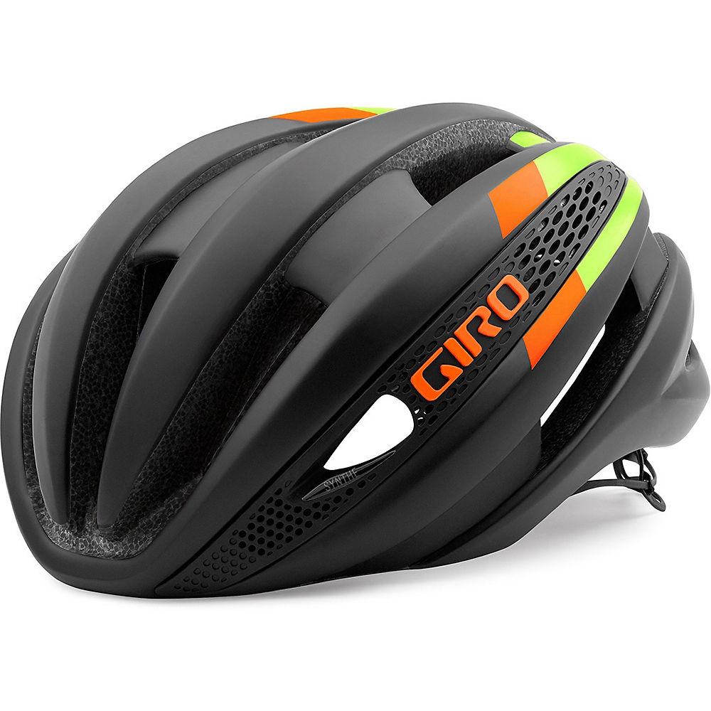 Giro Synthe Helmet 2016 – Black – Lime – Flame, Black – Lime – Flame