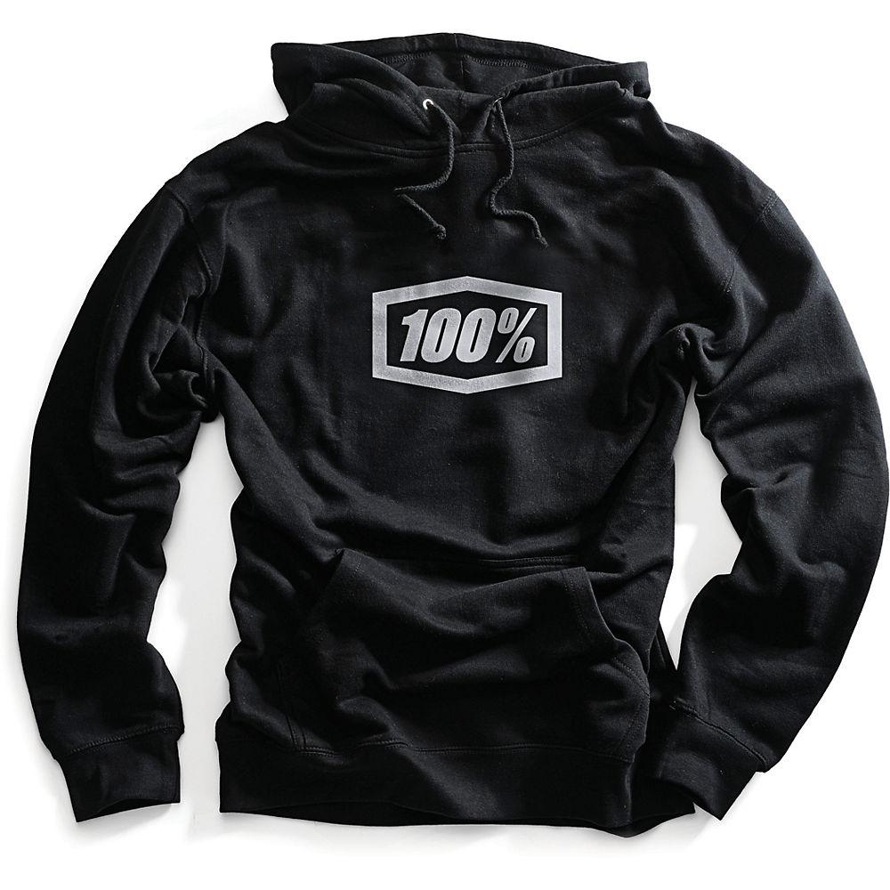 100% Corpo Hoodie - Black - M, Black