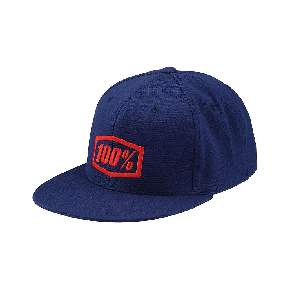 100% Essential Hat  - Navy Blue - S/M, Navy Blue