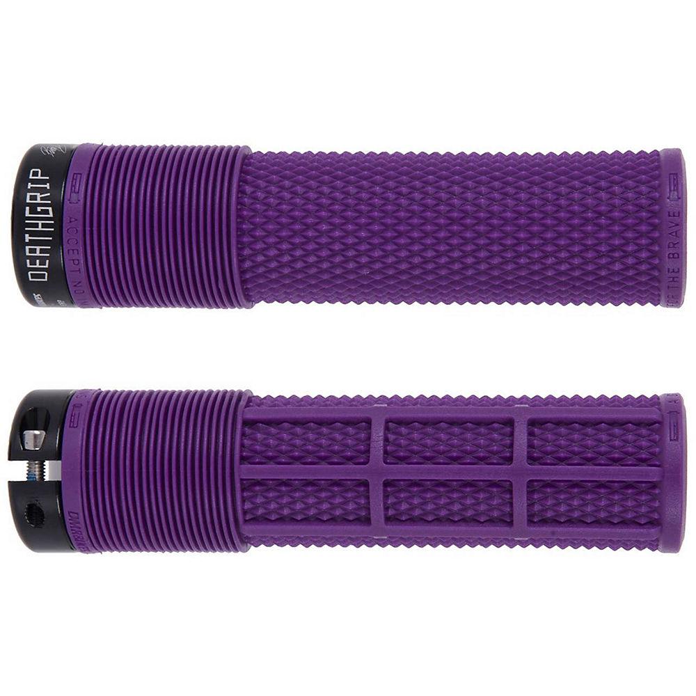 DMR Brendog Death Grip MTB Grips - Purple - 135mm, Purple