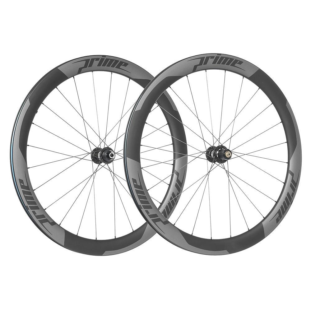 Juego de ruedas de carretera de carbono Prime RR-50 (de disco - de cámara)