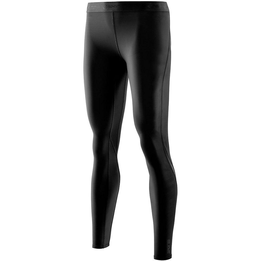 Skins Womens DNAmic Long Tights - Black-Black - XL, Black-Black