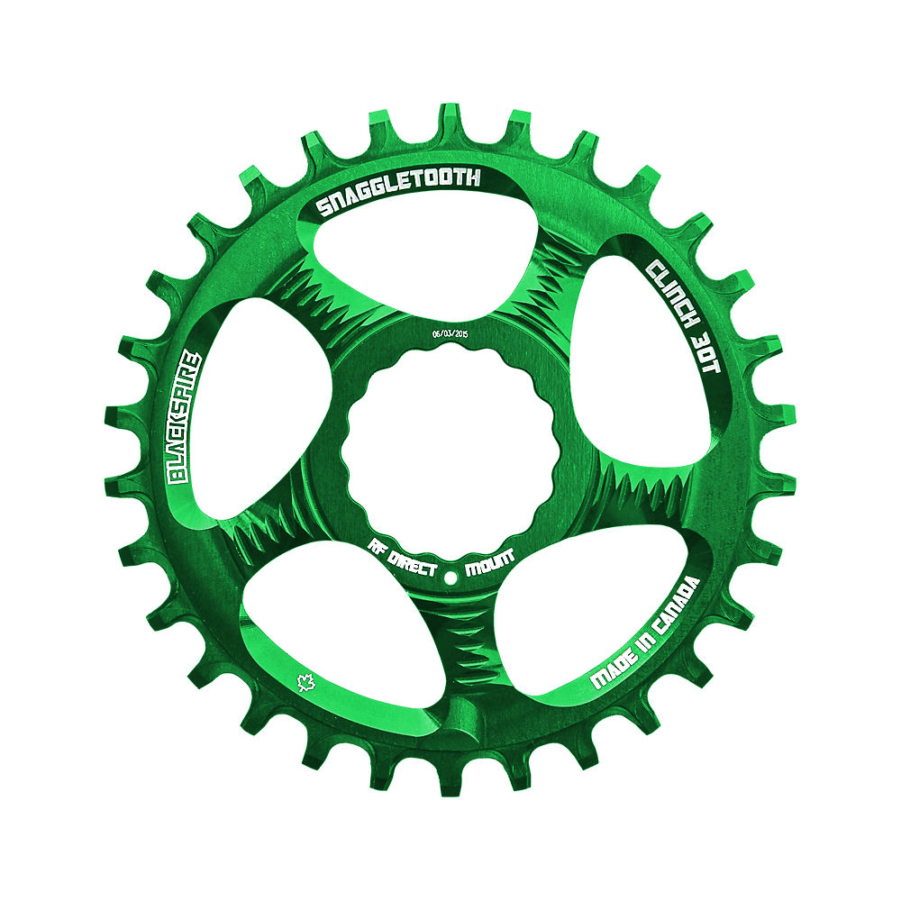 Blackspire Snaggletooth Narrow Wide Cinch Chainring - Green - Direct Mount  Green