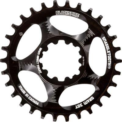 Blackspire Snaggletooth Narrow Wide SRAM Chainring - Direct Mount, Black | cykelklinge