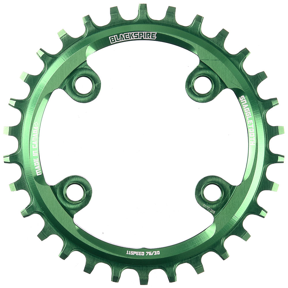 Blackspire Snaggletooth Narrow Wide Chainring (xx1) - Lime Green - 4-bolt  Lime Green