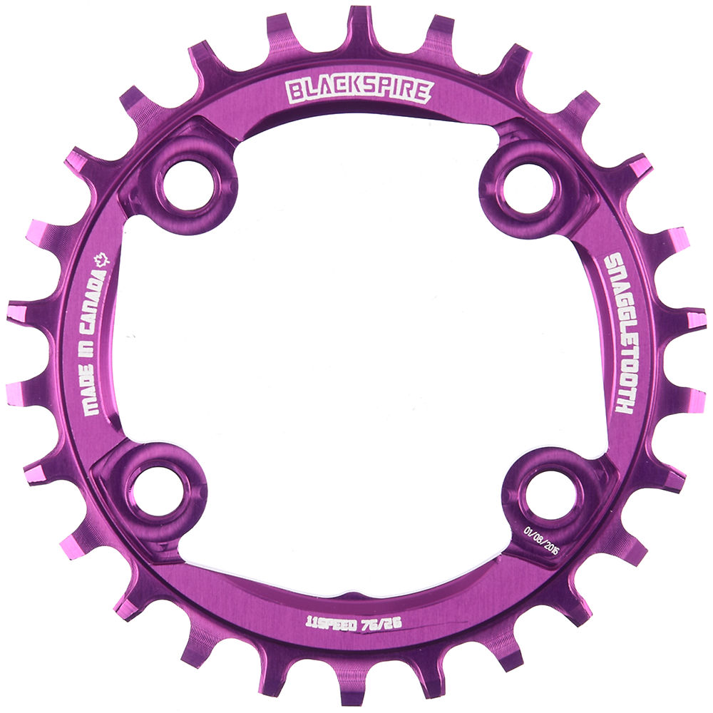 Blackspire Snaggletooth Narrow Wide Chainring (xx1) - Purple - 4-bolt  Purple