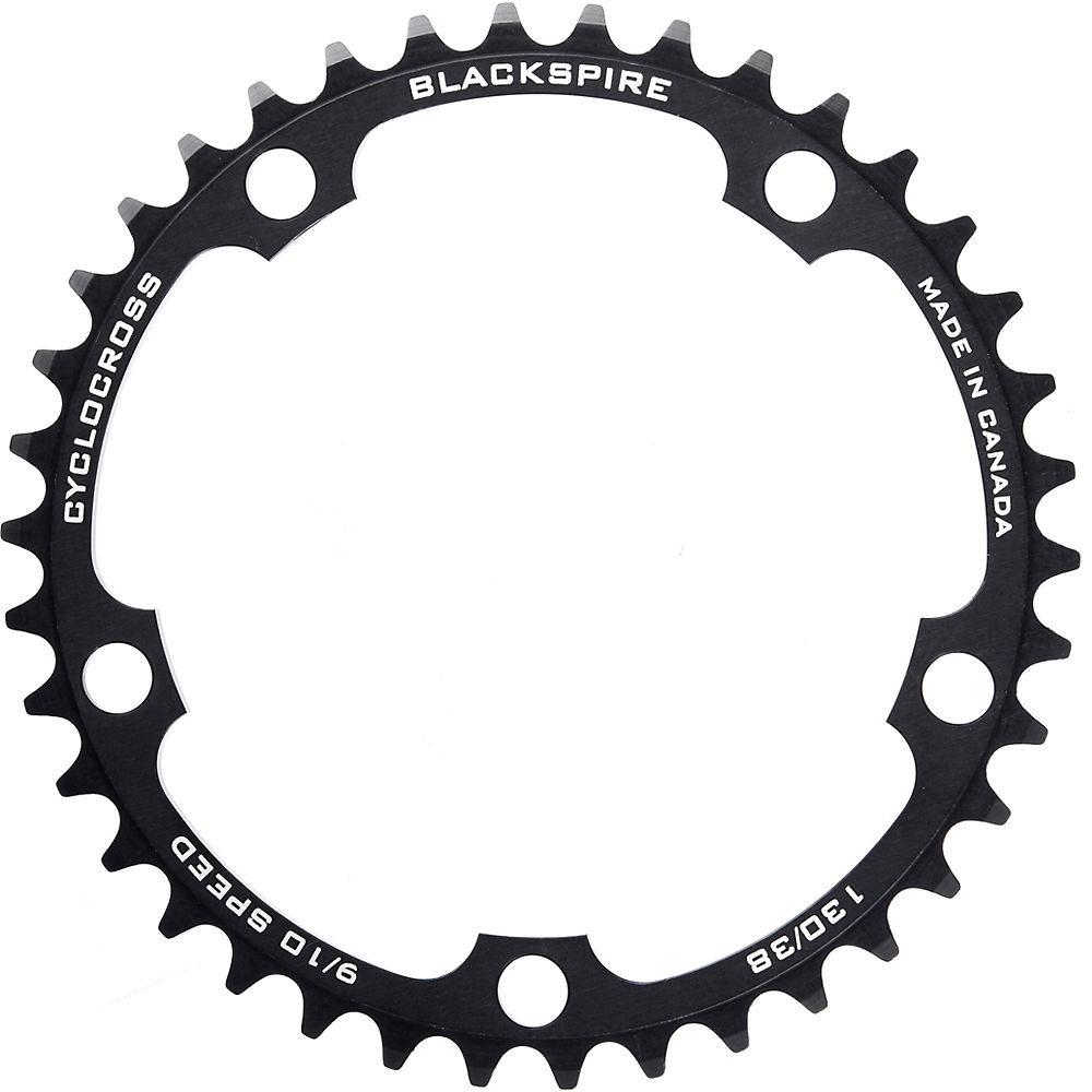 Blackspire Super Pro Cyclocross Chainrings - 46t  Black
