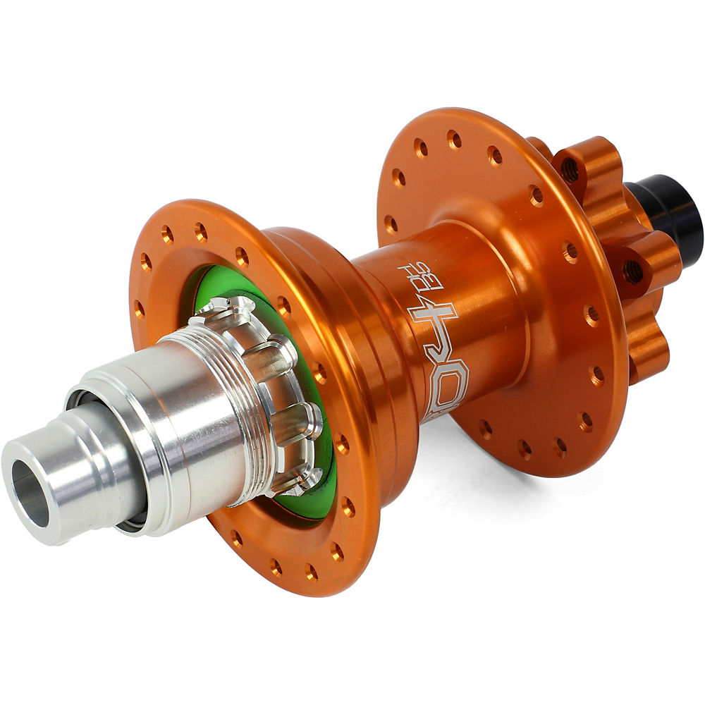 Hope Pro 4 DH MTB Rear Hub - Orange - 32h - 150mm x 12mm Axle, Orange