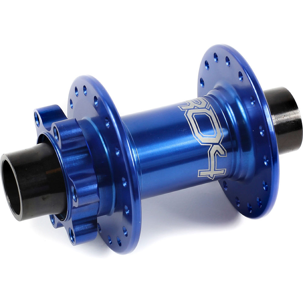 Hope Pro 4 MTB Front Hub Axle (20mm) - Blue - 36h - 20mm Axle, Blue