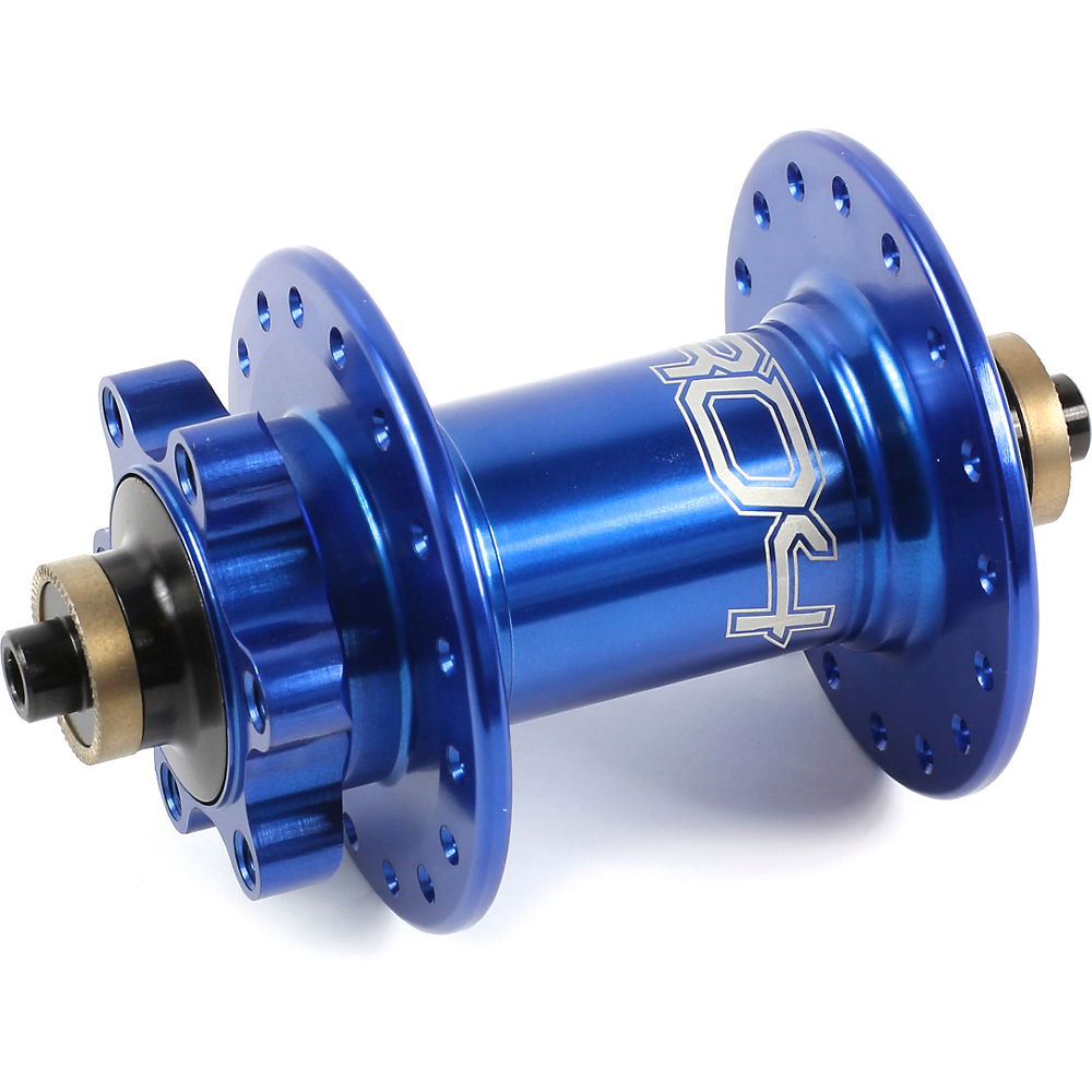 Hope Pro 4 MTB Quick Release Front Hub - Blue - 32h - QR Axle, Blue
