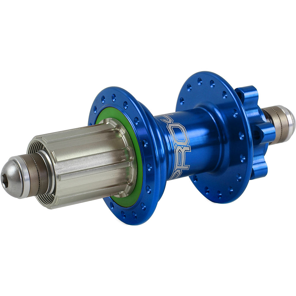 Hope Pro 4 Mtb Rear Hub - 10mm Bolt Up Axle - Blue - 32h  Blue