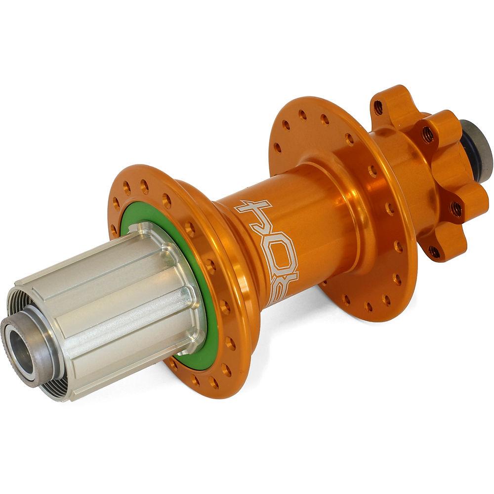Hope Pro 4 MTB Rear Hub - 150mm x 12mm Axle - Orange - 32h - 150mm x 12mm Axle, Orange
