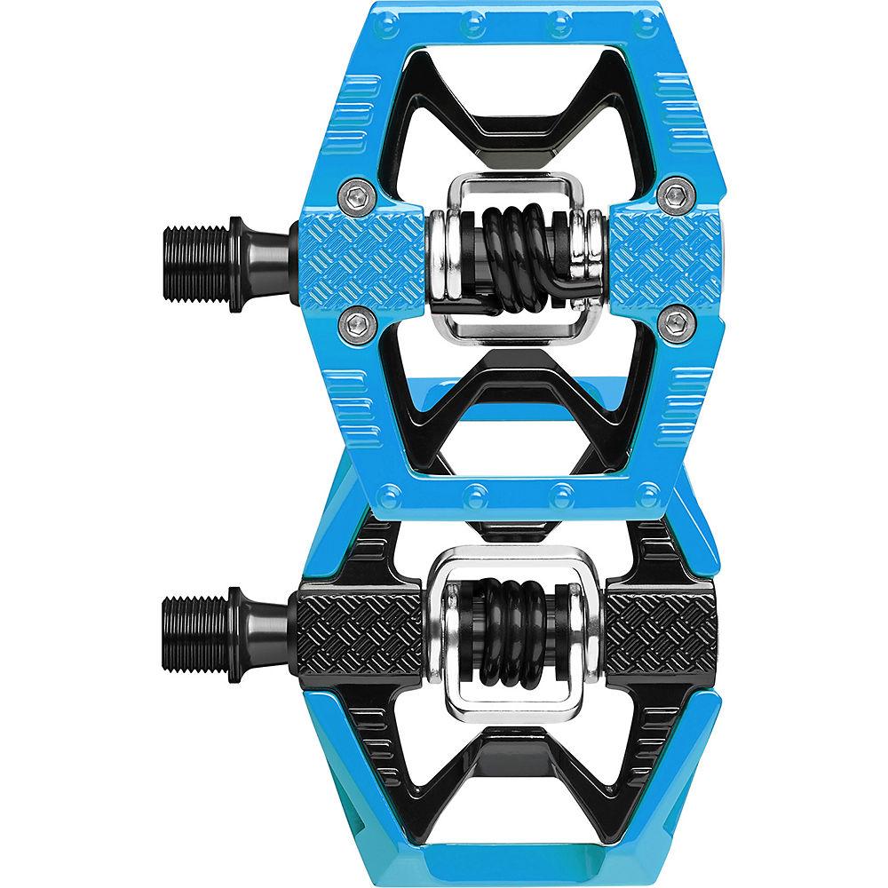 Pedales Crank Brothers DoubleShot - Azul - Negro, Azul - Negro