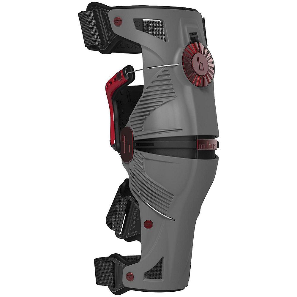 Image of Genouillères Mobius X8 - Storm Gris - Crimson