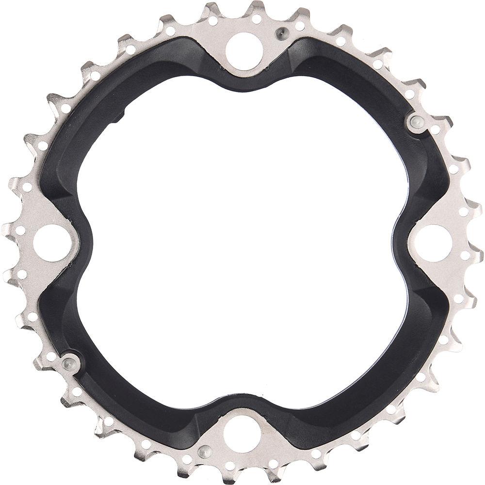 Shimano Fct521 10 Speed Triple Chainrings - Black - Standard Type  Black