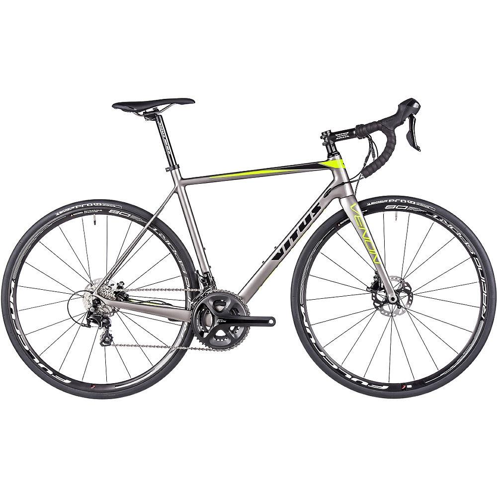 Bicicleta de carretera de disco Vitus Venon (carbono 105) 2017