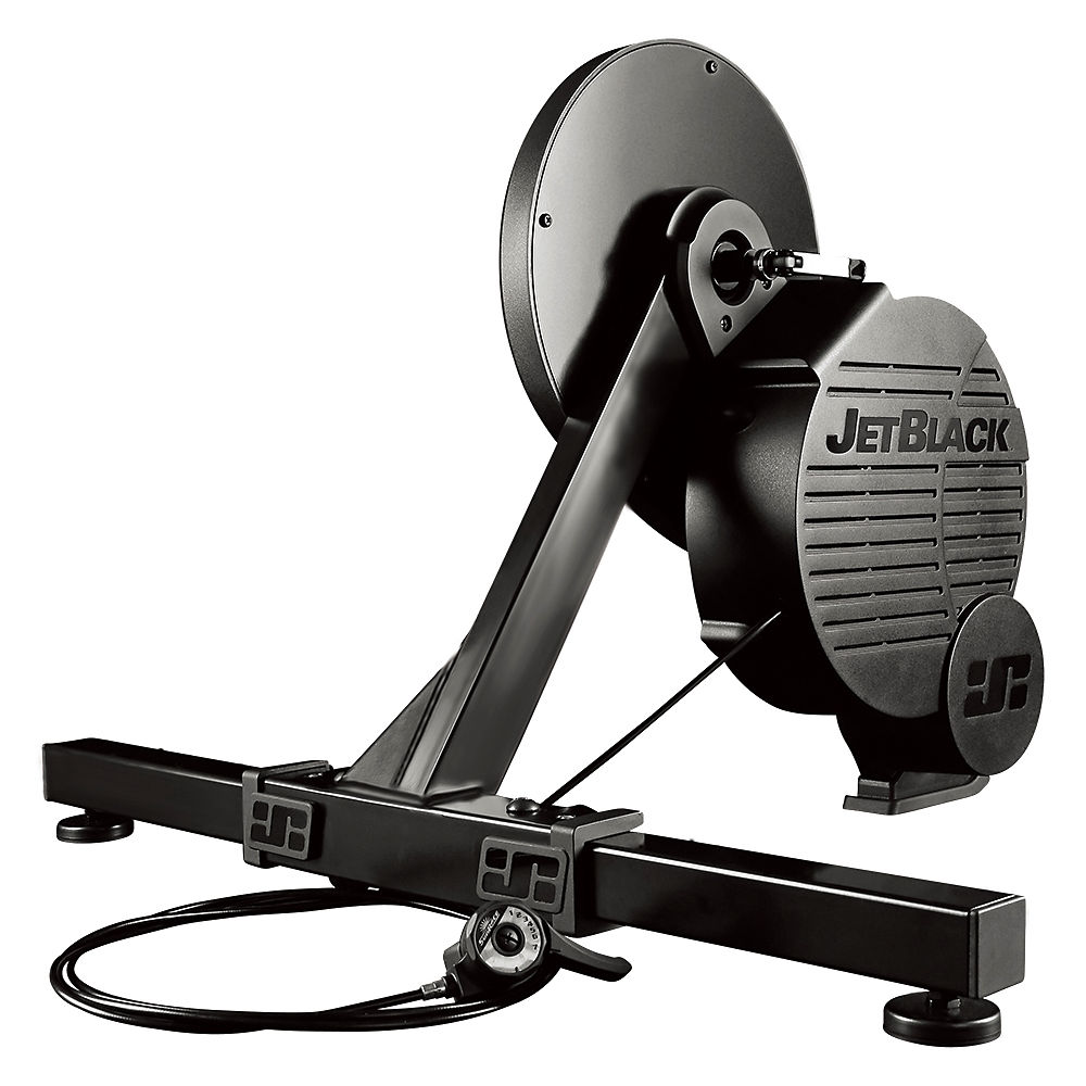 Rodillo de fijación directa Jet Black Whisperdrive + App