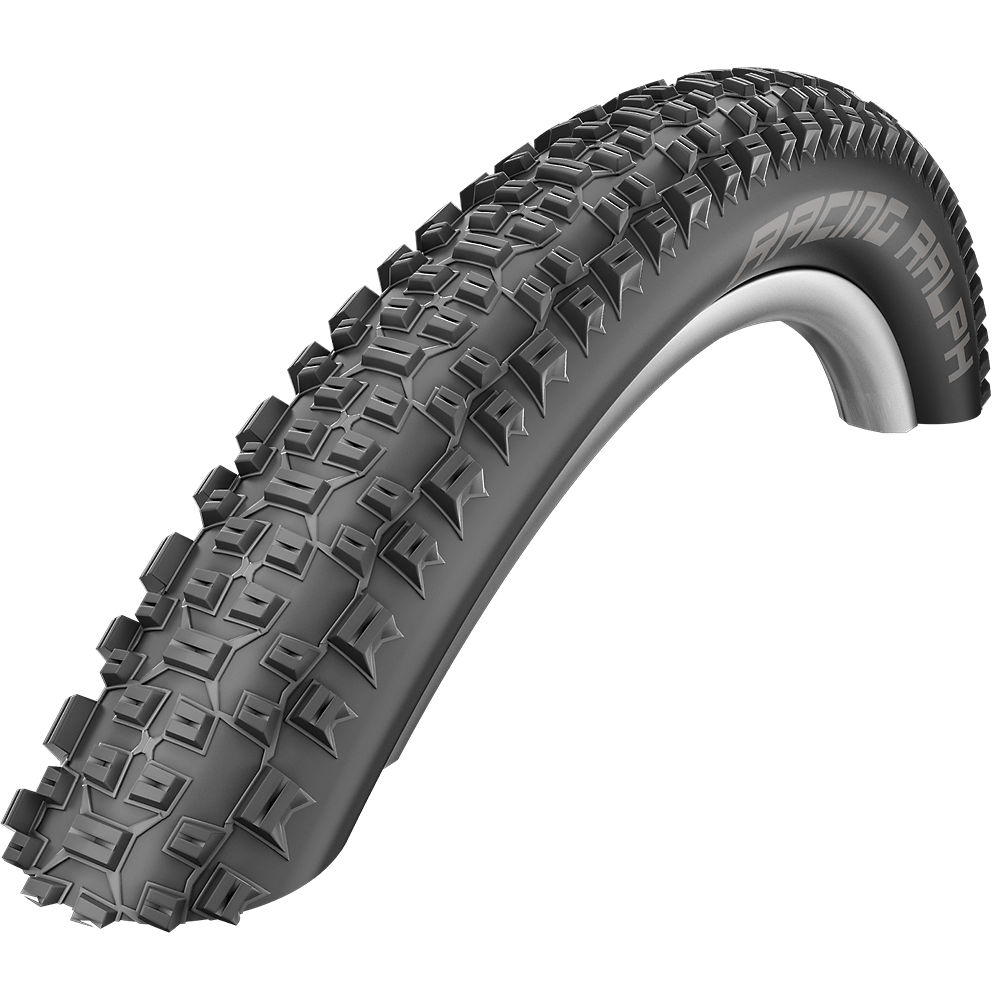 Schwalbe Racing Ralph Evo MTB Tyre - Liteskin - Black - Folding Bead, Black