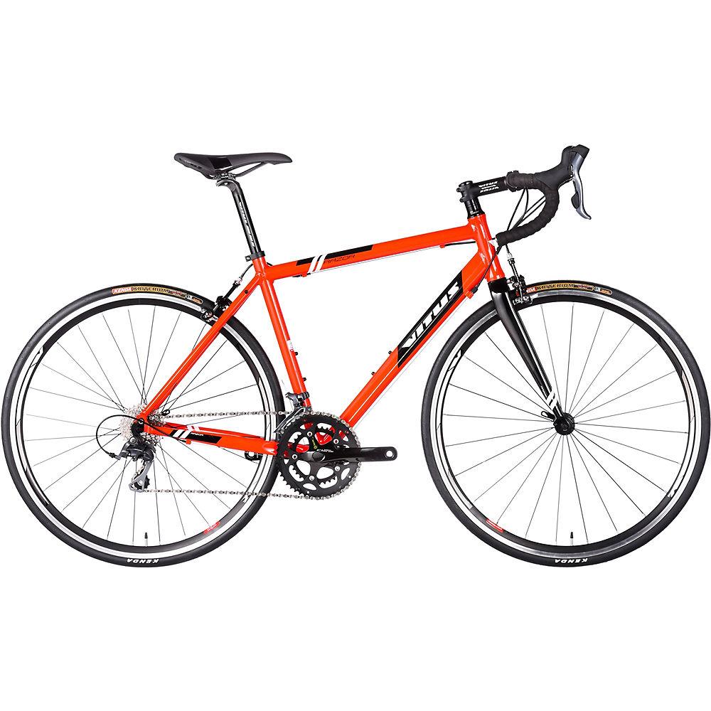 Vitus Razor Road Bike 2017 - Red - Black - 56cm (22)  Red - Black