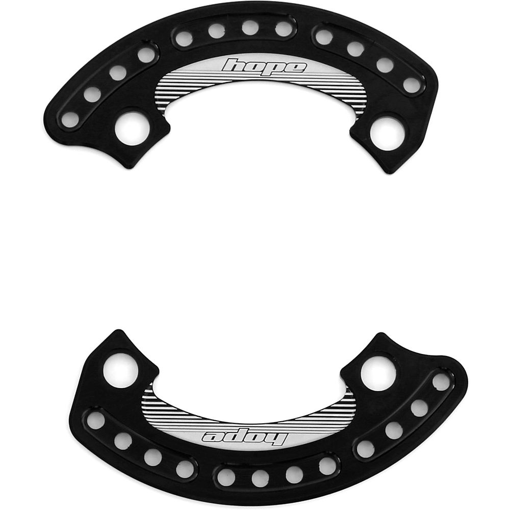Hope 1-4 Bash Plate - Black - 36t  Black