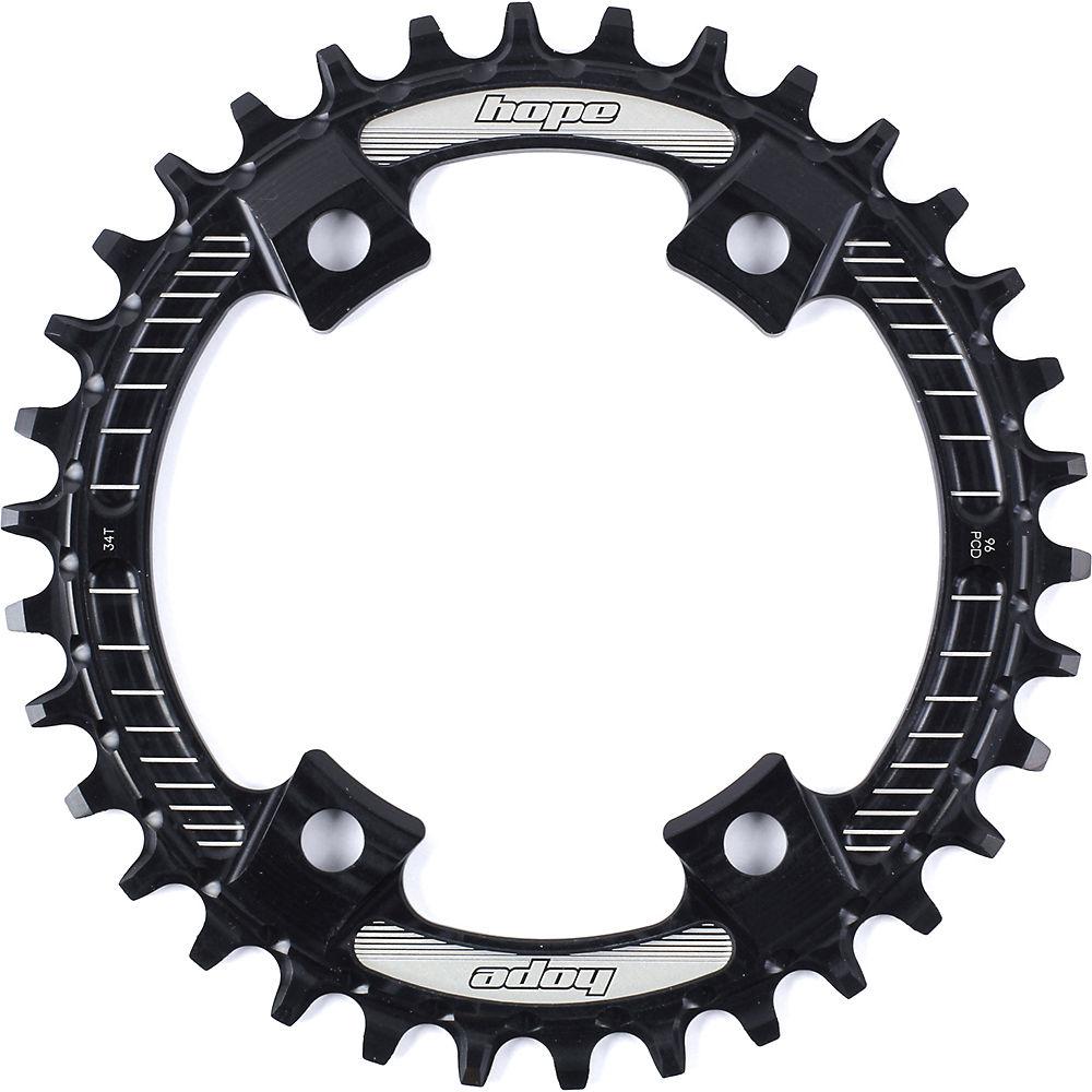 Hope M8000-mt700 Retainer Ring - Black - 4-bolt  Black