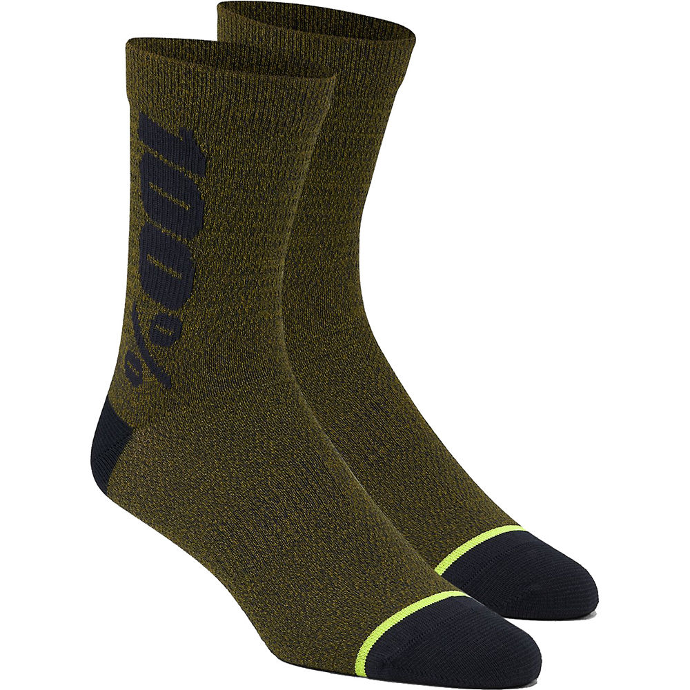 100% Rythym Merino Performance Socks - Fatigue - S/m  Fatigue