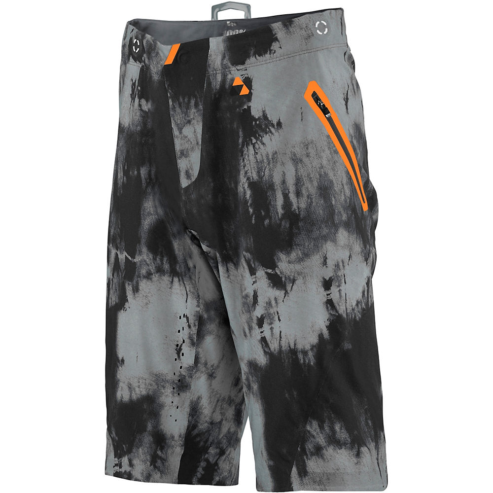 100% Celium Tiedyed Shorts  - Black - Tiedyed - 28, Black - Tiedyed