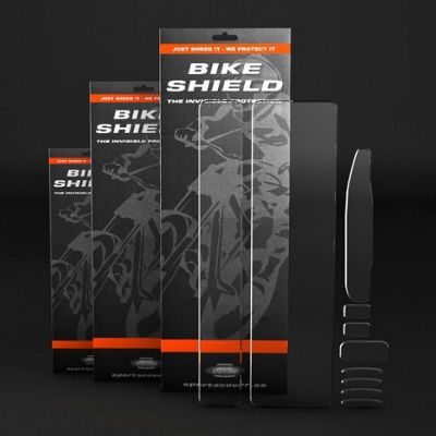 Bike Shield Full Pack Frame Protection Set - Clear - 10 Piece Set, Clear | Misc. Mudguards