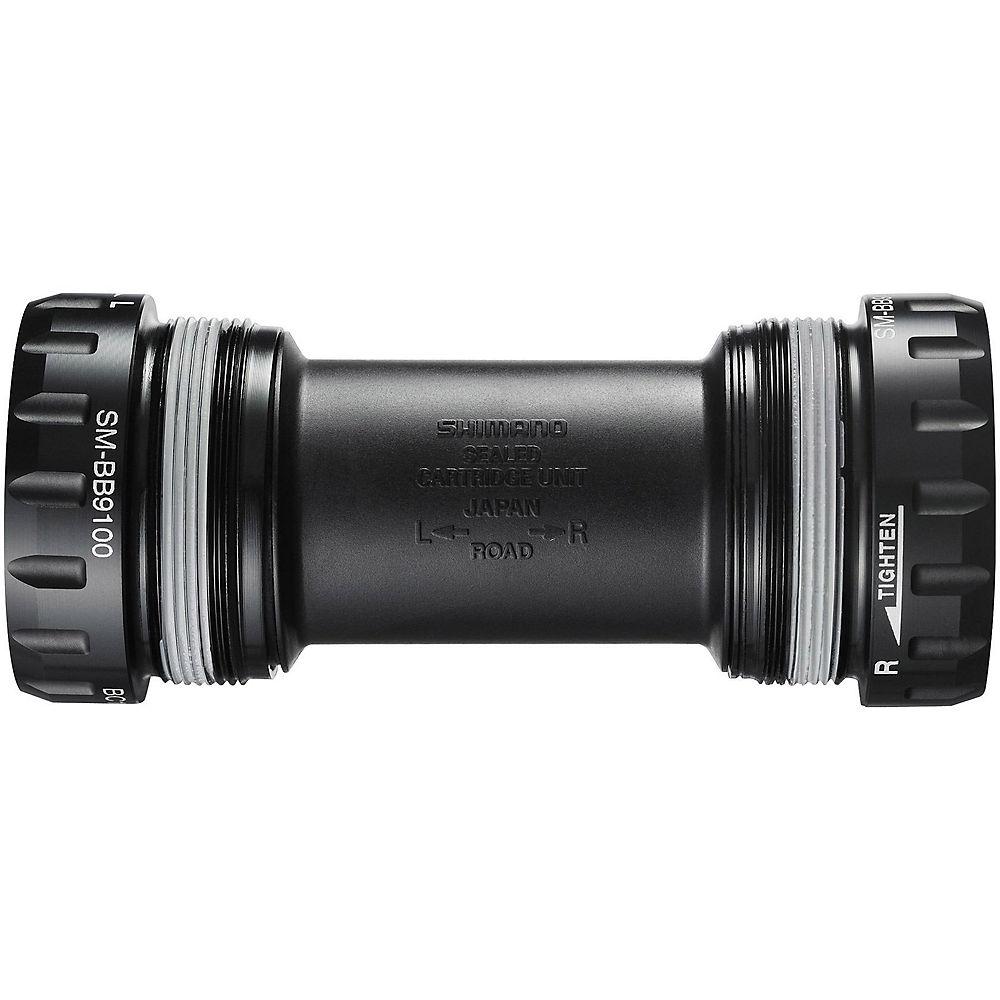 Movimento centrale Shimano Dura-Ace R9100 - nero - 70mm - Italian Thread - 24mm Spindle, nero