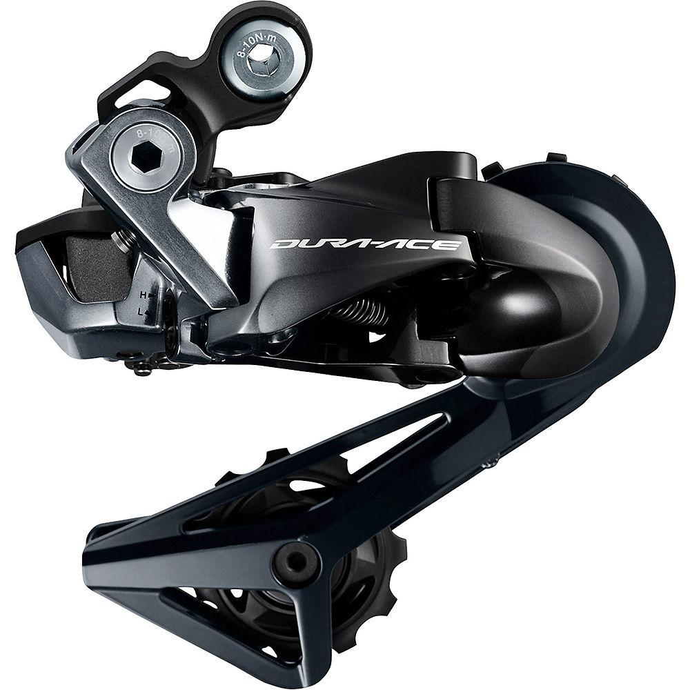Deragliatore posteriore Shimano Dura-Ace R9150 Di2 11v - nero - Short Cage, nero