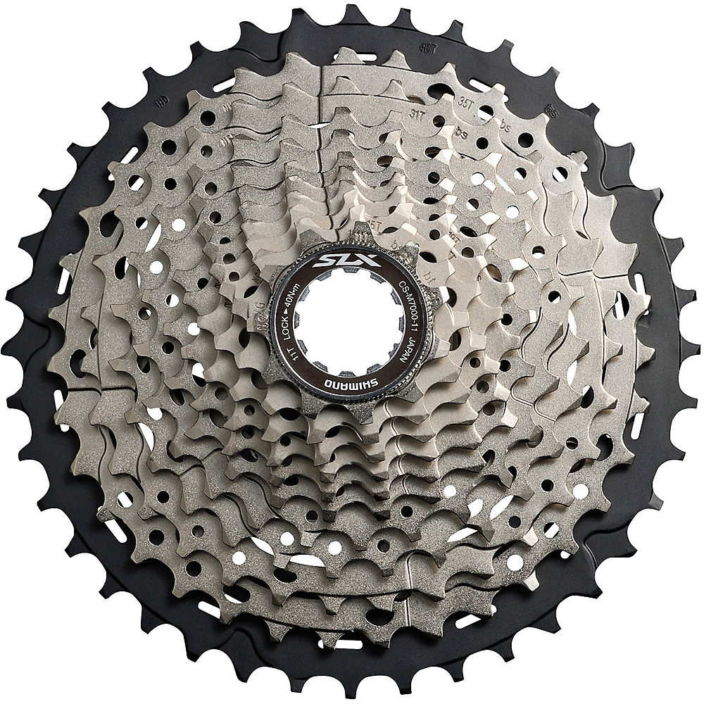Shimano SLX M7000 11 Speed Cassette (11-42t) - Silver, Silver