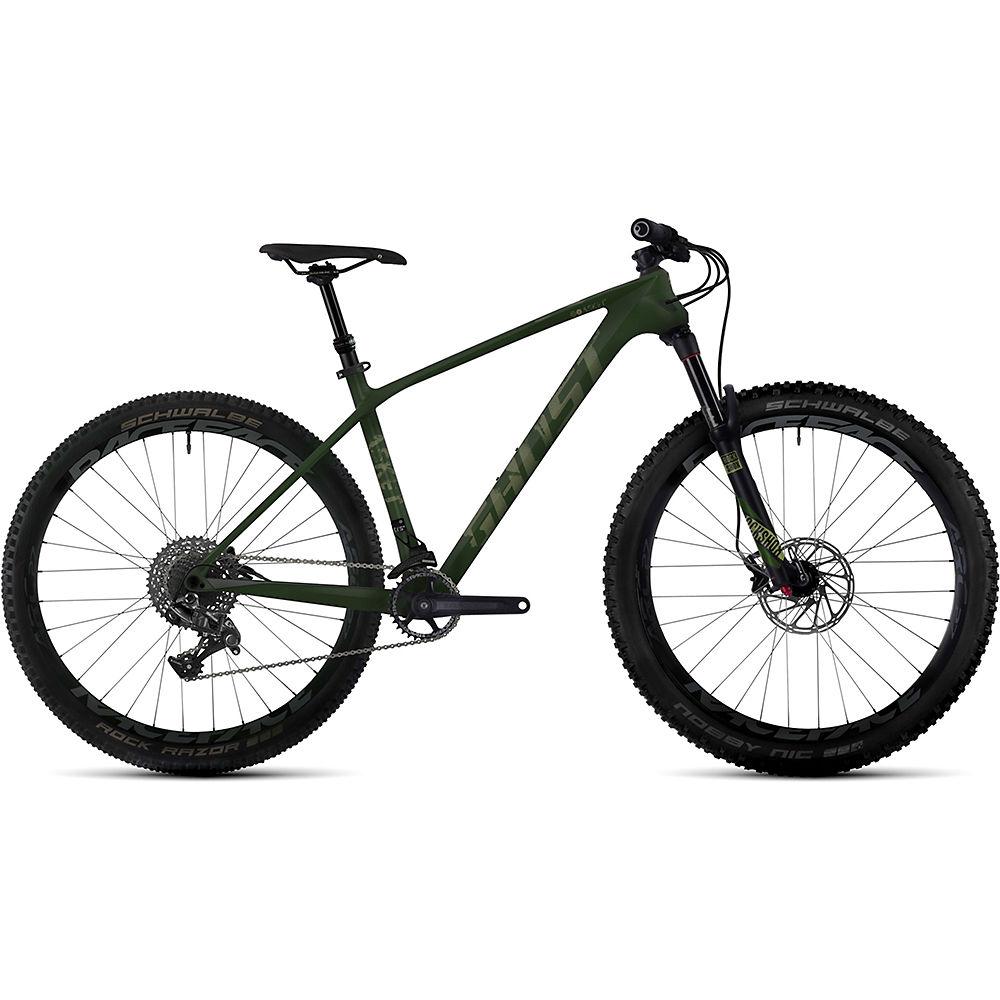 Bicicleta rígida de carbono Ghost Asket 5 2017