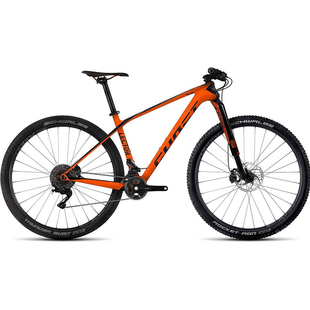 """Bicicleta rígida de carbono Ghost Lector 7 29"""" 2017"""