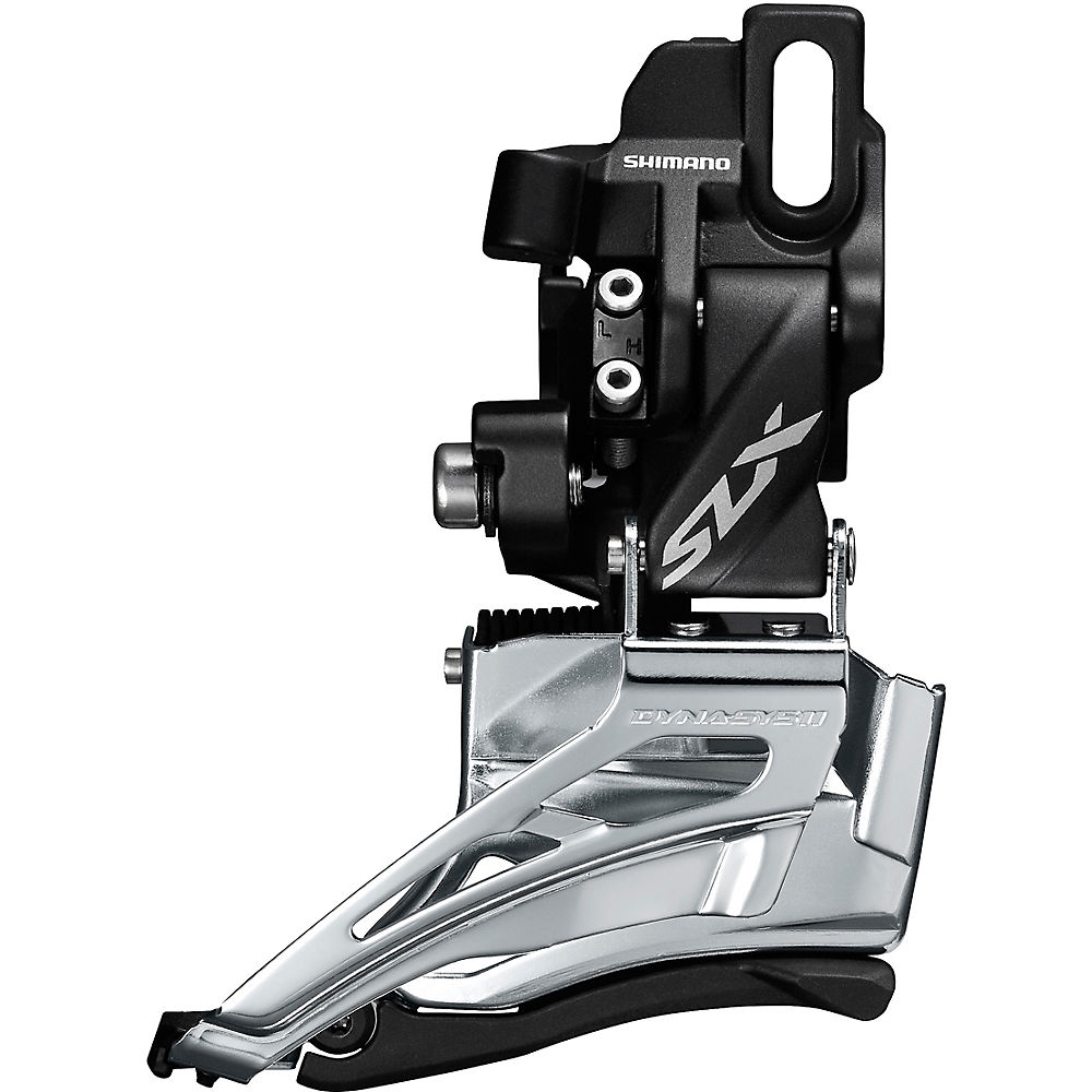 Shimano SLX M7025 2x11 MTB Front Derailleur - Dual Pull - Braze On, Dual Pull