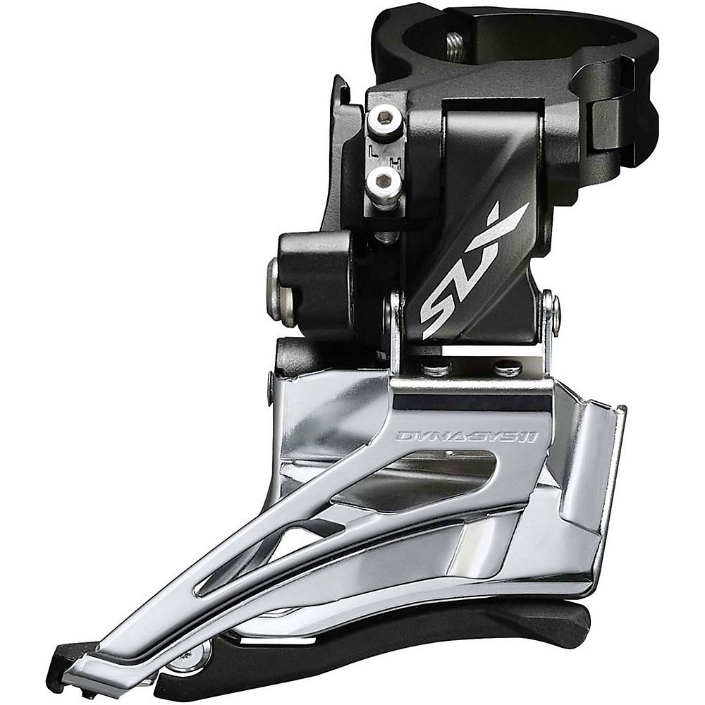 Shimano SLX M7025 2x11 MTB Front Derailleur - Series Colour - Dual Pull, Series Colour
