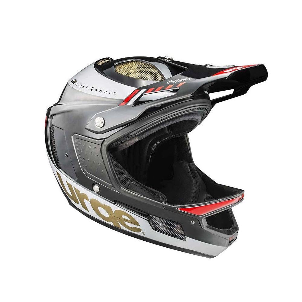 Urge Archi-Enduro Helmet RR 2017 – Black – White – S, Black – White