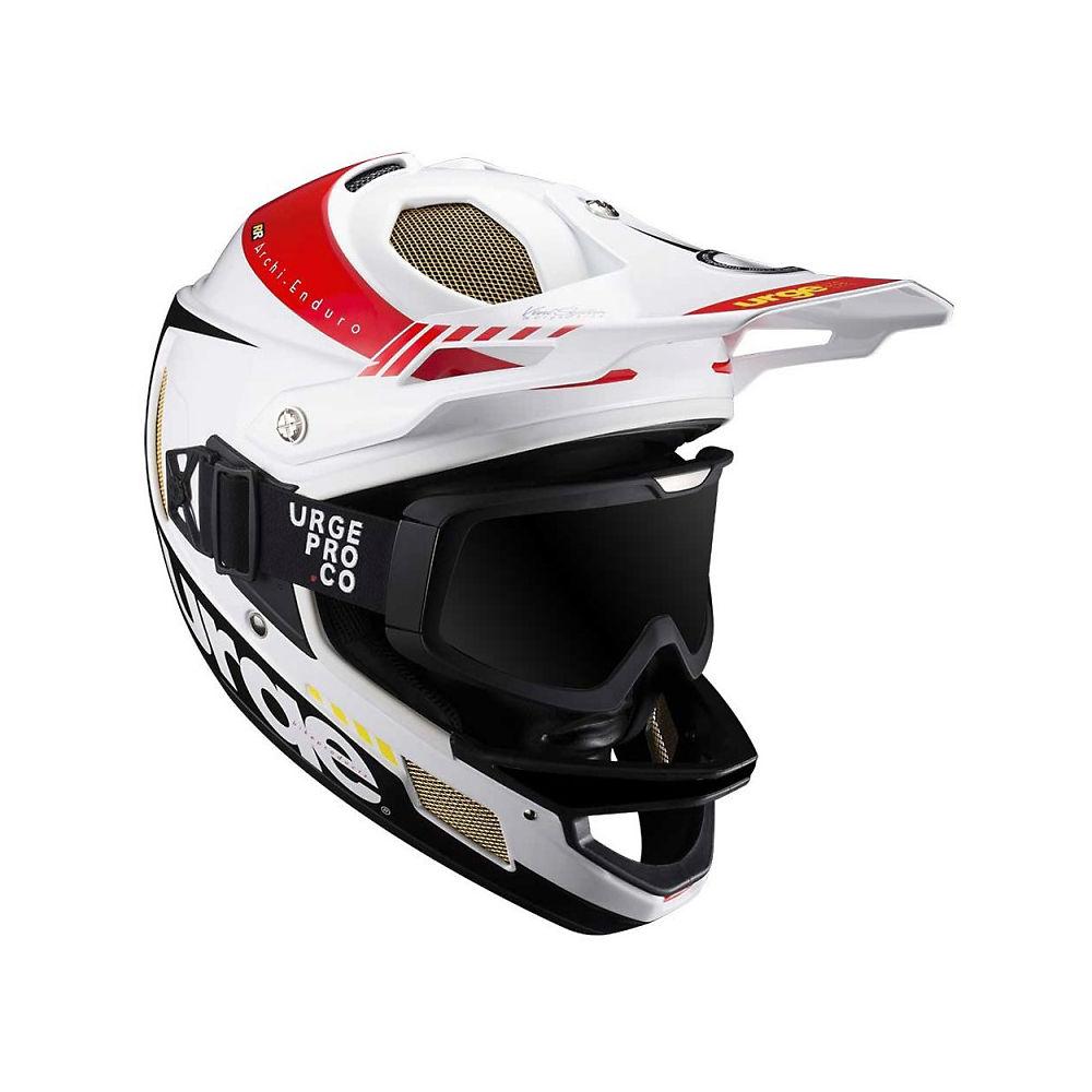 Urge Archi-Enduro Helmet RR+ 2017 – White – Black – XS, White – Black