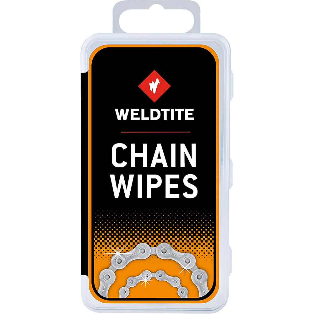 Toallitas para limpiar la cadena Weldtite Dirtwash
