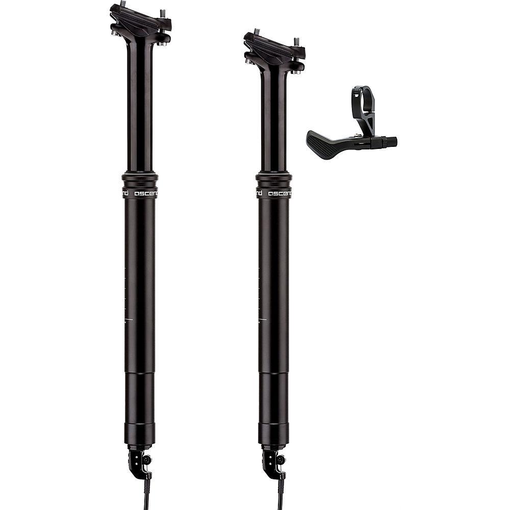 Tija telescópica Brand-X Ascend - Negro - 412mm, Negro